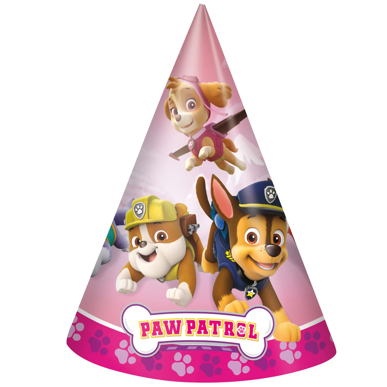 Skye Paw Patrol Party Hats 8ct Walmart Com Walmart Com