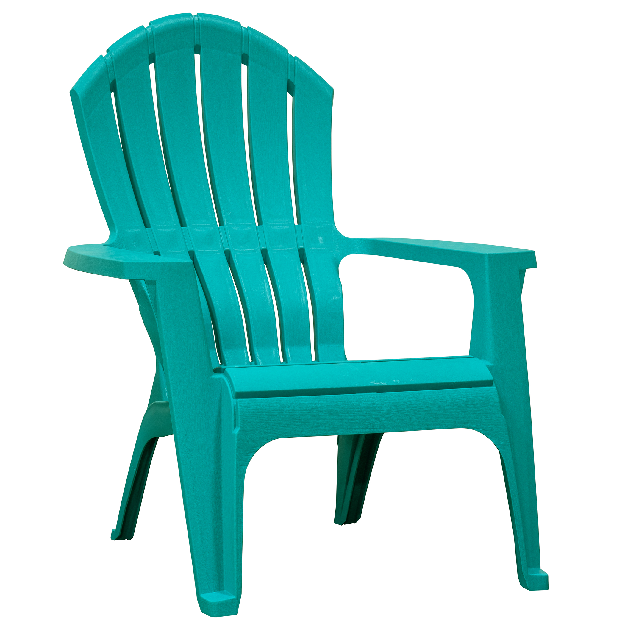 adams manufacturing realcomfort outdoor resin stackable adirondack chair teal