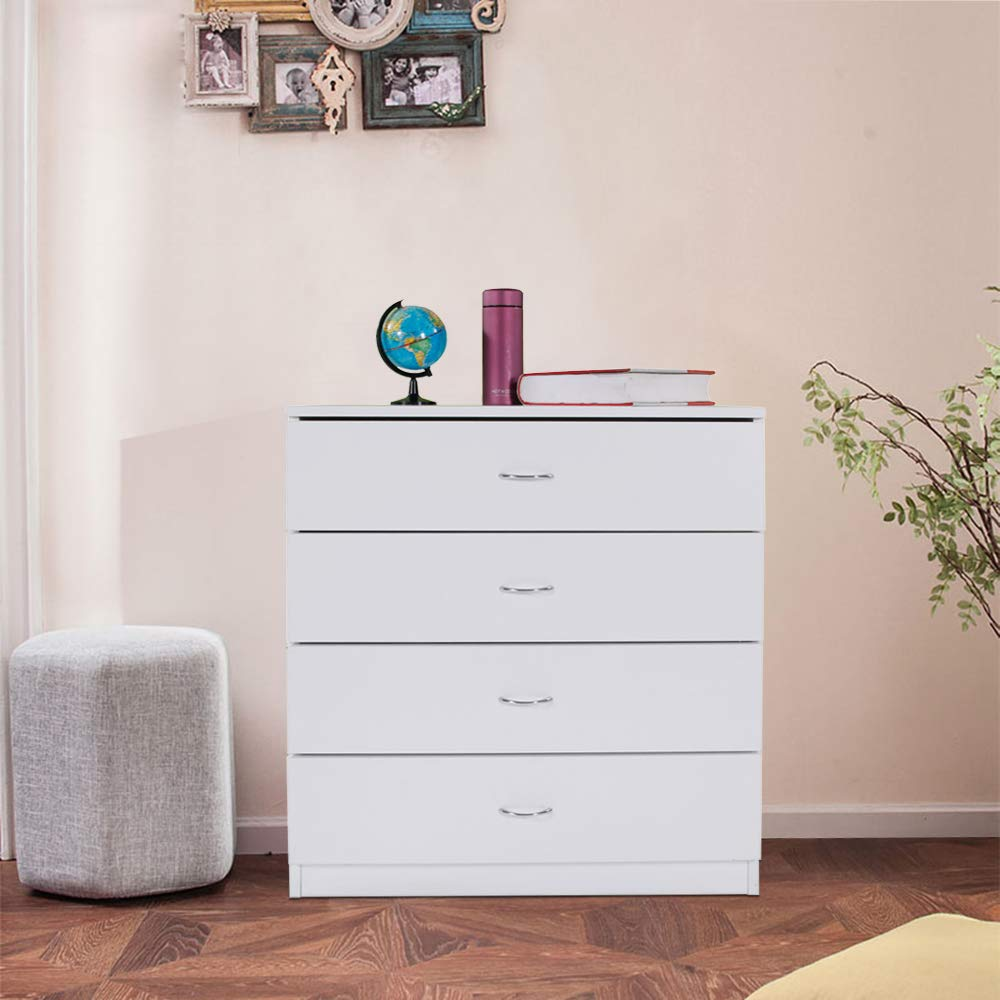 dressers heavy duty 4 drawer wood chest of drawers modern storage bedroom chest for kids room white vertical storage cabinet for bathroom closet