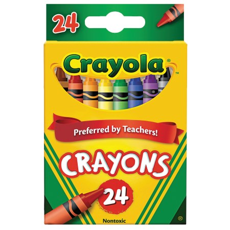 Crayola Classic Color Pack Crayons, 24-Count and Colors