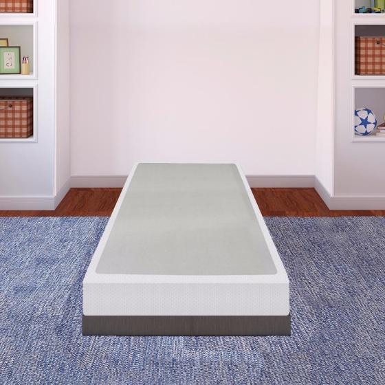 Best Price Mattress 7 5 Inch Bi Fold New Steel Box Spring Foundation
