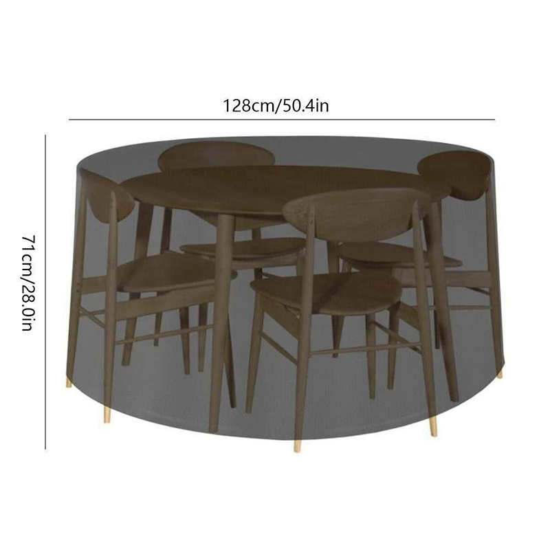 htocinq patio furniture covers waterproof round patio table chair cover heavy duty and uv resistant outdoor furniture cover