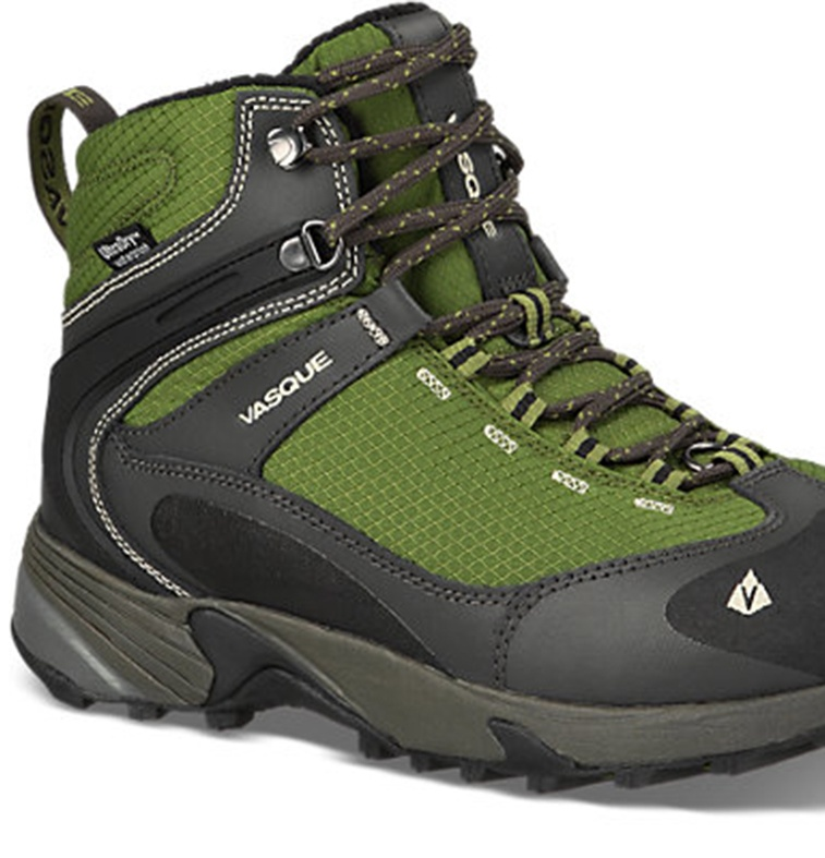 vasque men s snow junkie green hiking boot 10 m