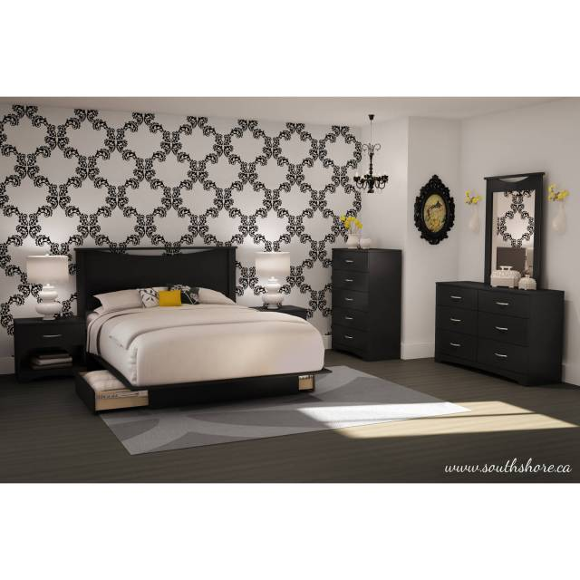 South Shore SoHo Dresser and Mirror Multiple Finishes Walmart