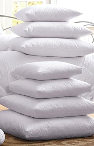 3404 16x16 high quality polyester pillow inserts 10x10 through 30x30 30x30