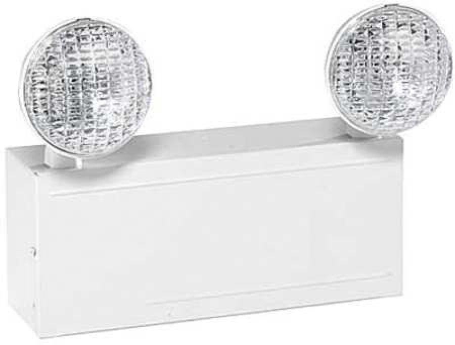 hubbell lighting dual lite lm16 hubbell lighting 2 incandescent lamps emergency light