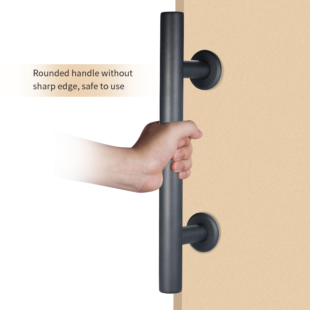 12 Sliding Barn Door Handle Heavy Duty Pull And Flush Door Handle Hardware Set Recessed Pull