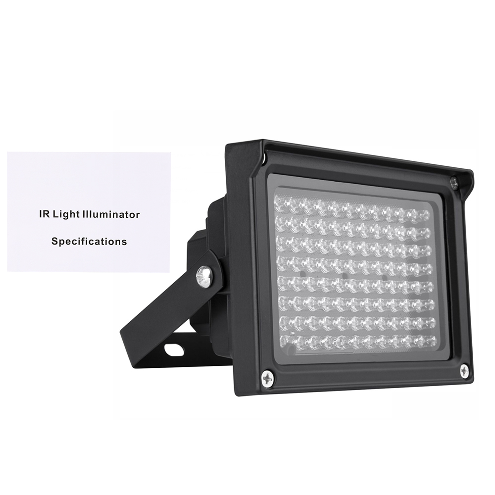 dodocool 96 leds ir illuminator array infrared lamps night vision outdoor waterproof for cctv camera