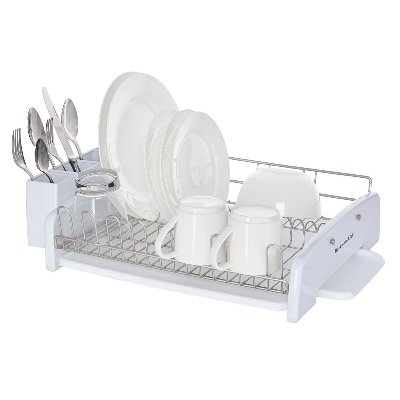 kitchenaid classic dish rack white walmart com
