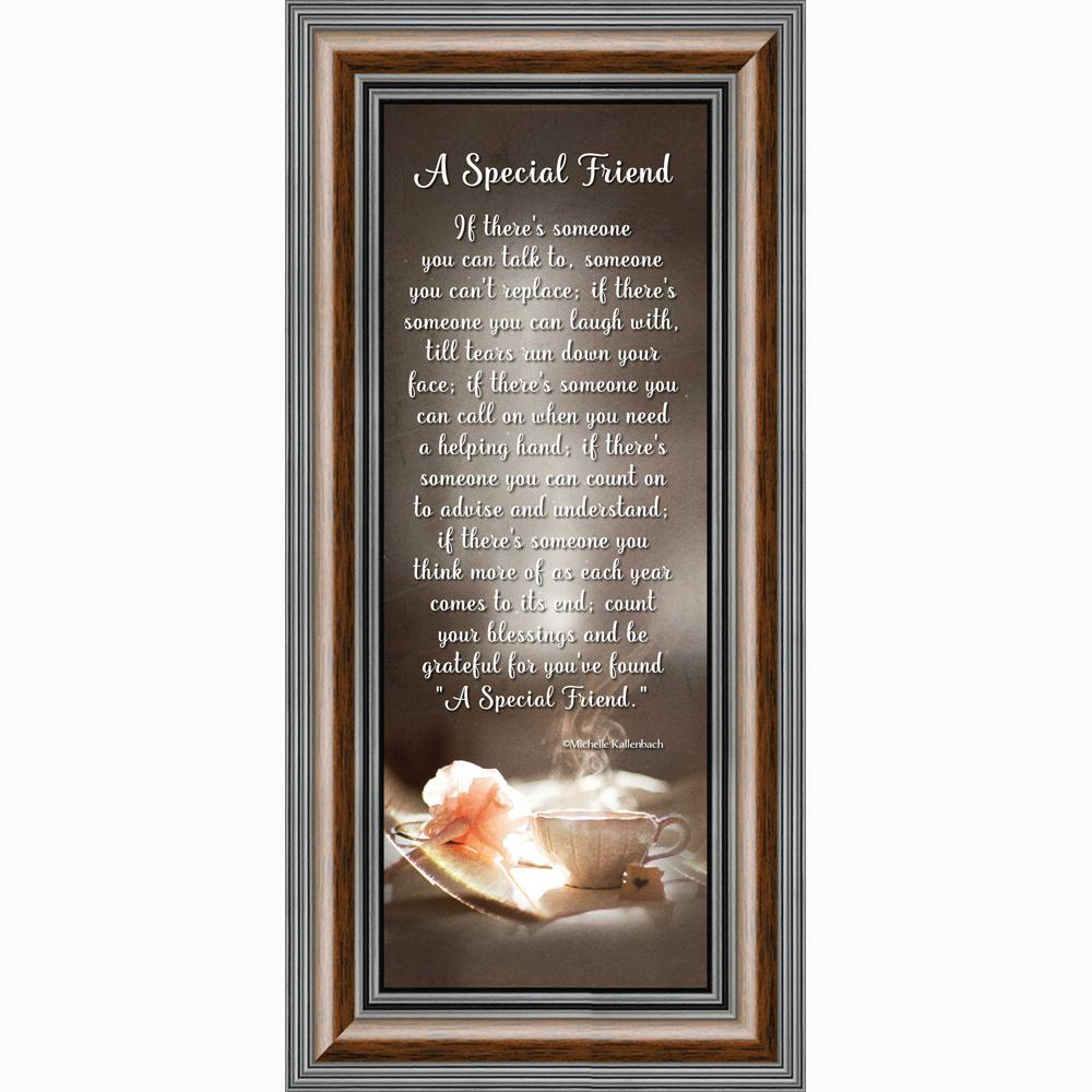 A Special Friend Friendship Gifts Picture Frame For Friend 6x12 7335 Walmart Com Walmart Com