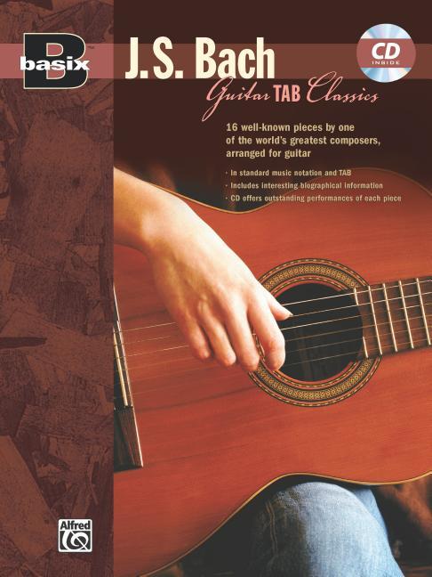 Basix Guitar Tab Classics — J. S. Bach: Book & CD (Paperback)