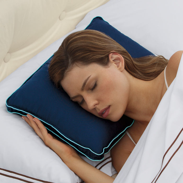 brookstone biosense travel pillow