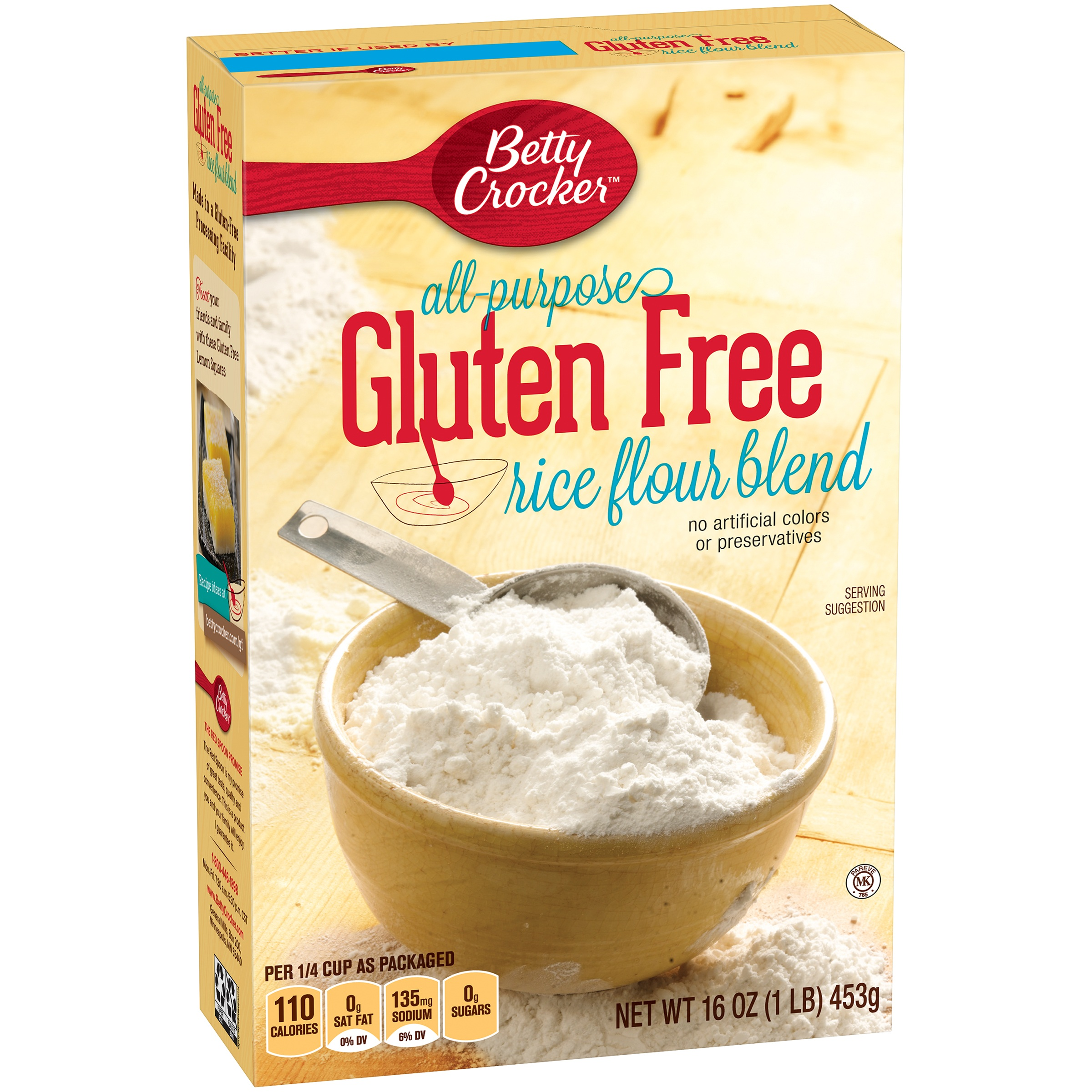 Betty Crocker Gluten Free Rice Flour Blend Flour 10 Lb