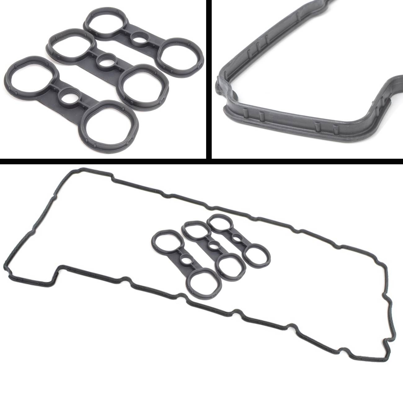 Bapmic Engine Valve Cover Gasket Set For Bmw