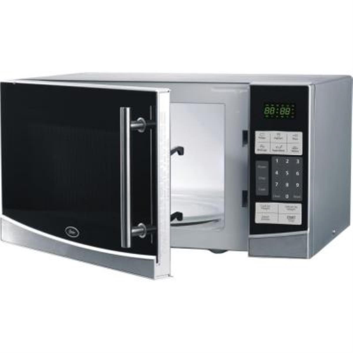 oster ogb61102 1 1 cu ft digital microwave oven black
