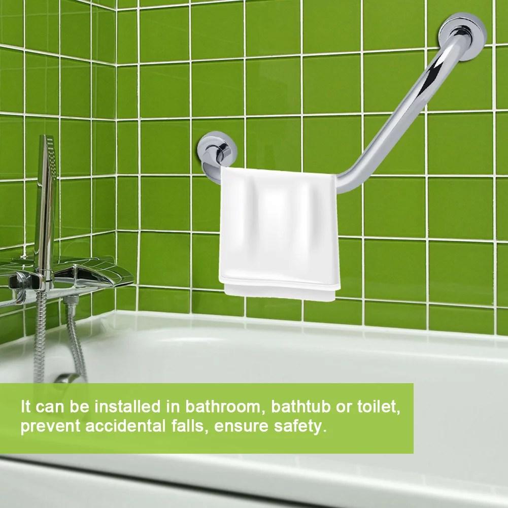 rdeghly epaissir la barre de support de baignoire de salle de bains en acier inoxydable main courante de securite pour le bain douche douche main