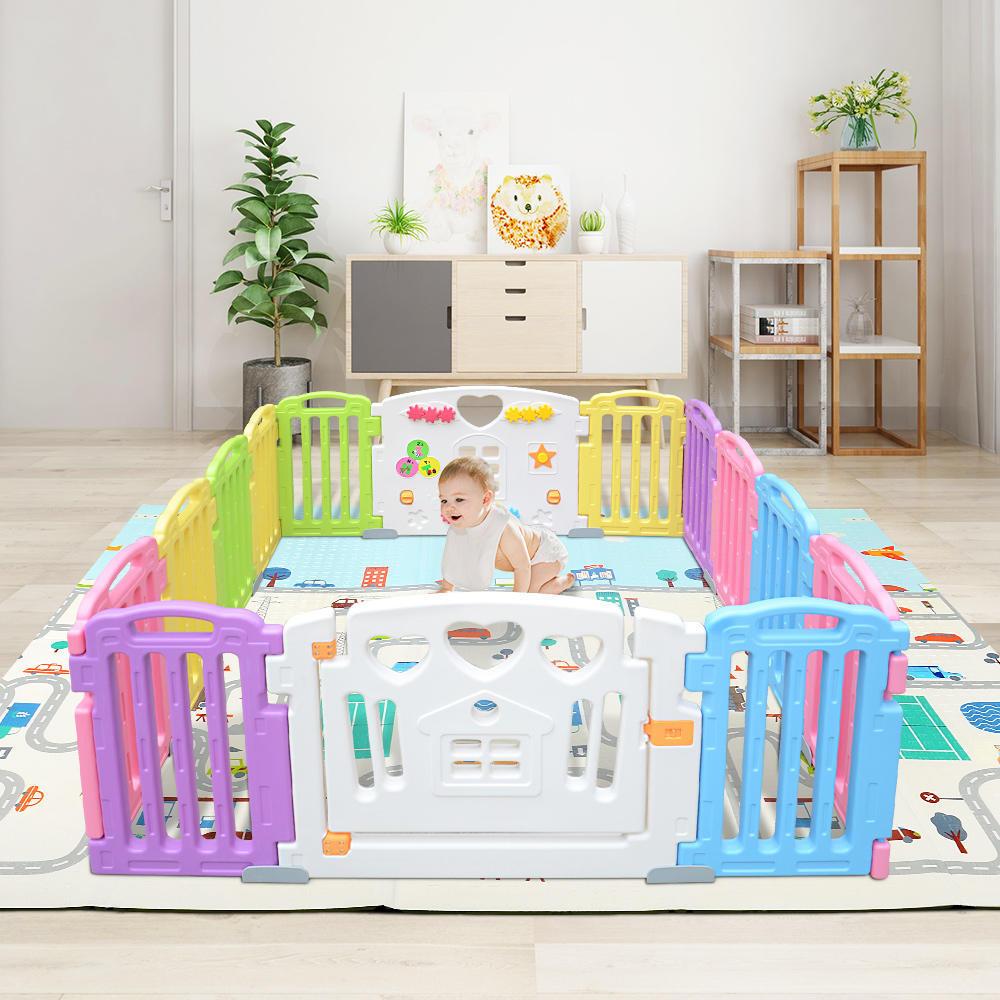 tapis de jeu recto verso tapis pliant pour bebe tapis de jeu pour enfants tapis de jeu impermeable non toxique pour bebes
