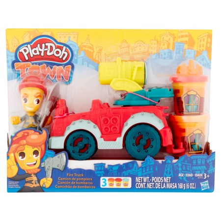 Hasbro Play-Doh Town Fire Truck Modeling Compound 3+, 6 oz