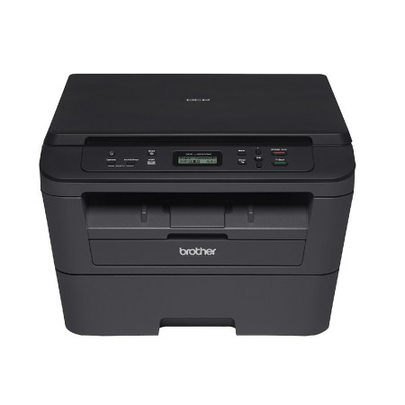 Brother Hll2390dw Monochrome Laser Printer With Convenient Flatbed Copy Scan Duplex And Wireless Printing