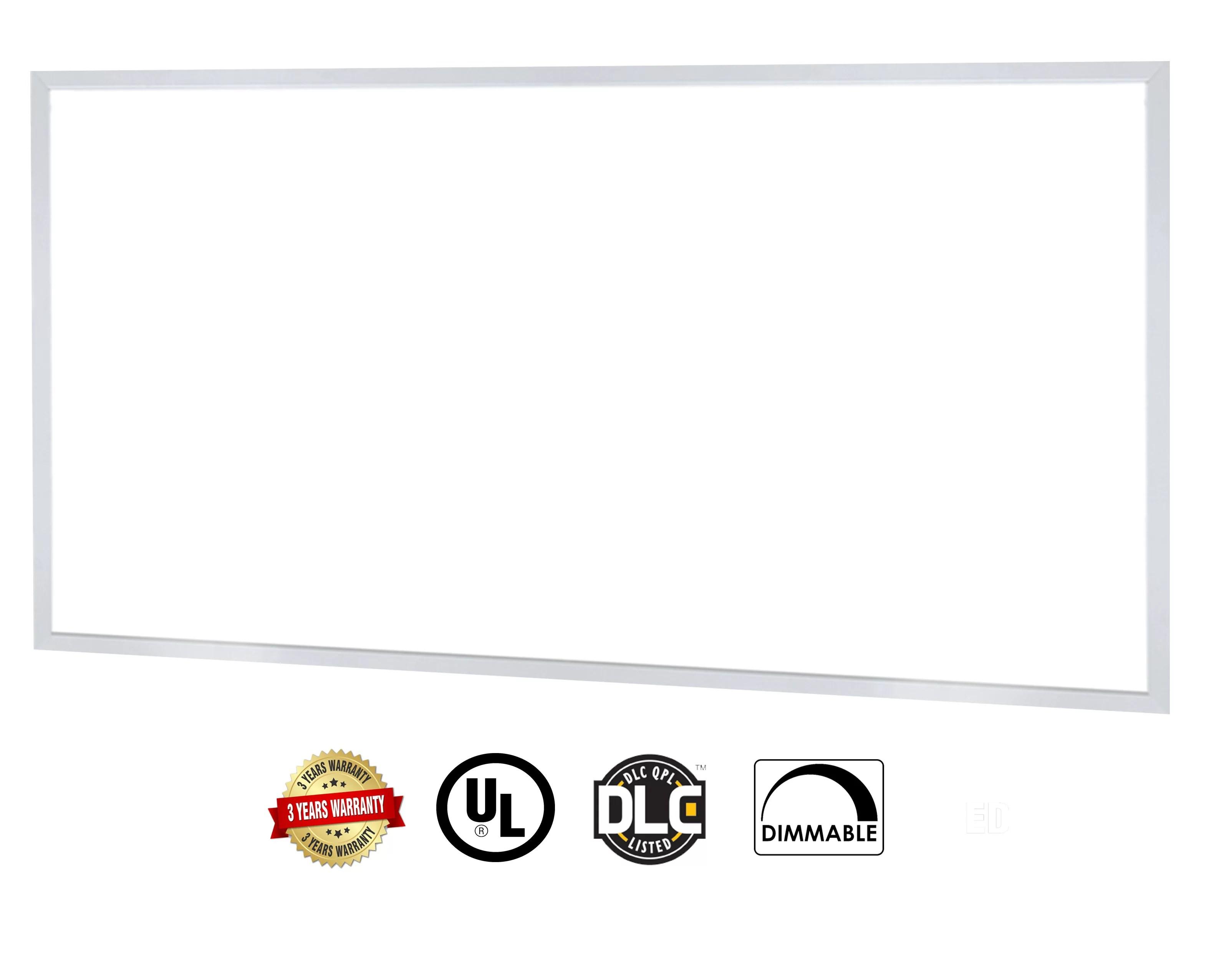 Led Panel Light Super Bright Ultra Thin Glare Free By