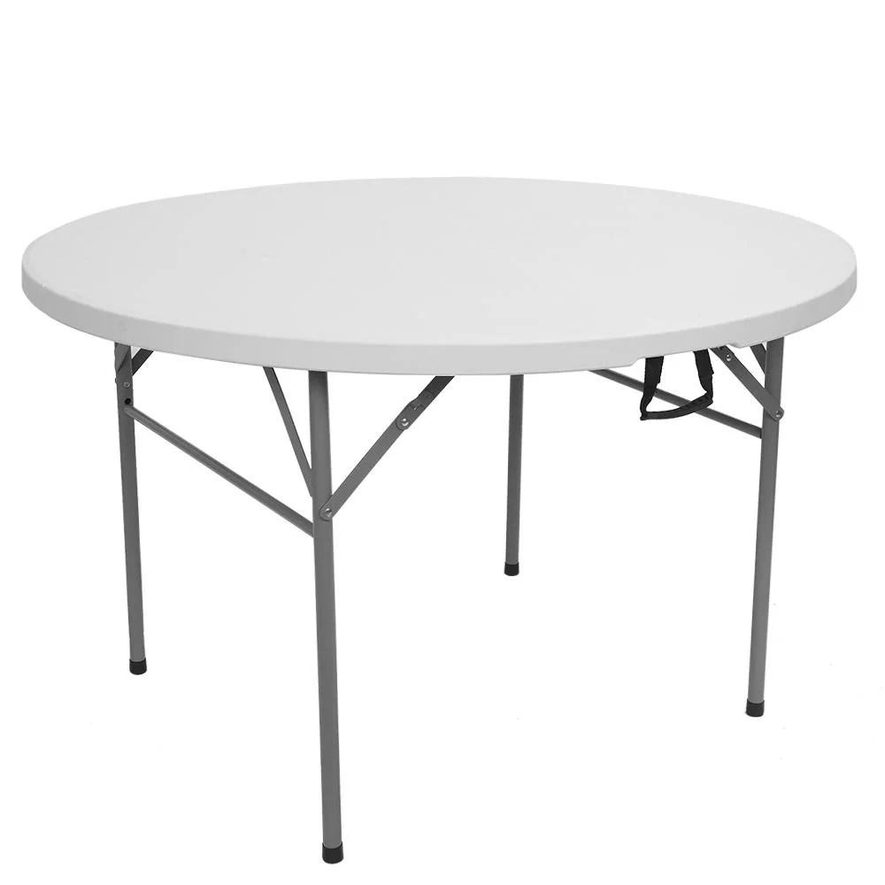 winado patio portable 48 round plastic folding table