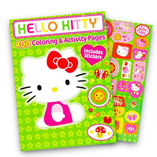 Hello Kitty Coloring Book Jumbo 400 Pages Featuring Classic Hello Kitty Characters Walmart Canada