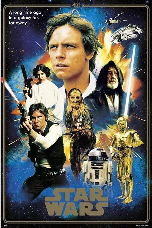 star wars episode iv movie poster 24 x