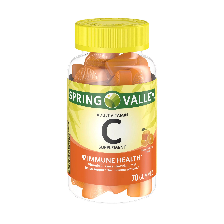 Spring Valley Adult Vitamin C 70 Ct Walmart Com