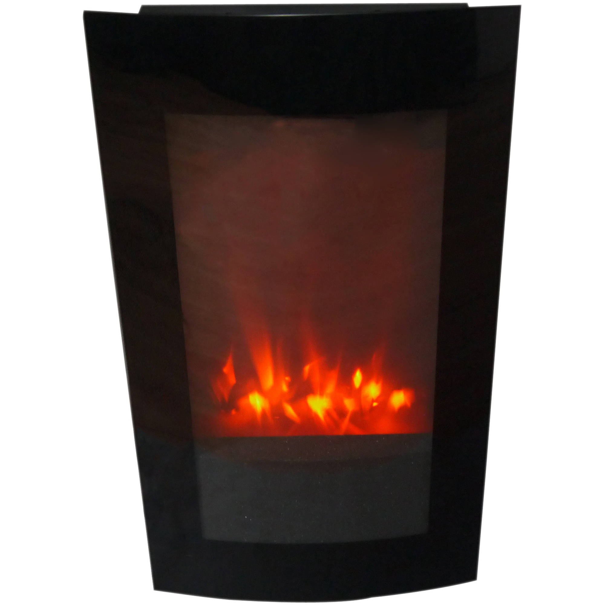 18 Vertical Wallmount Electric Space Heater Fireplace
