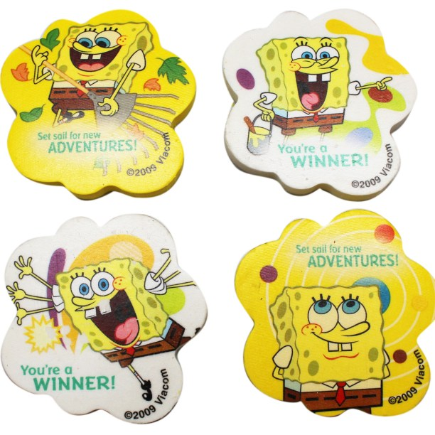 Spongebob Squarepants Cloud Shaped Kids