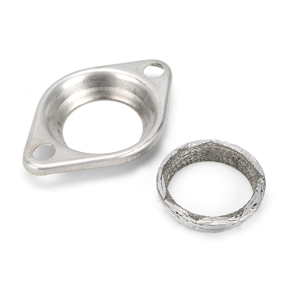 mgaxyff 2 5inch collector flange donut gasket exhaust header kit practical accessory