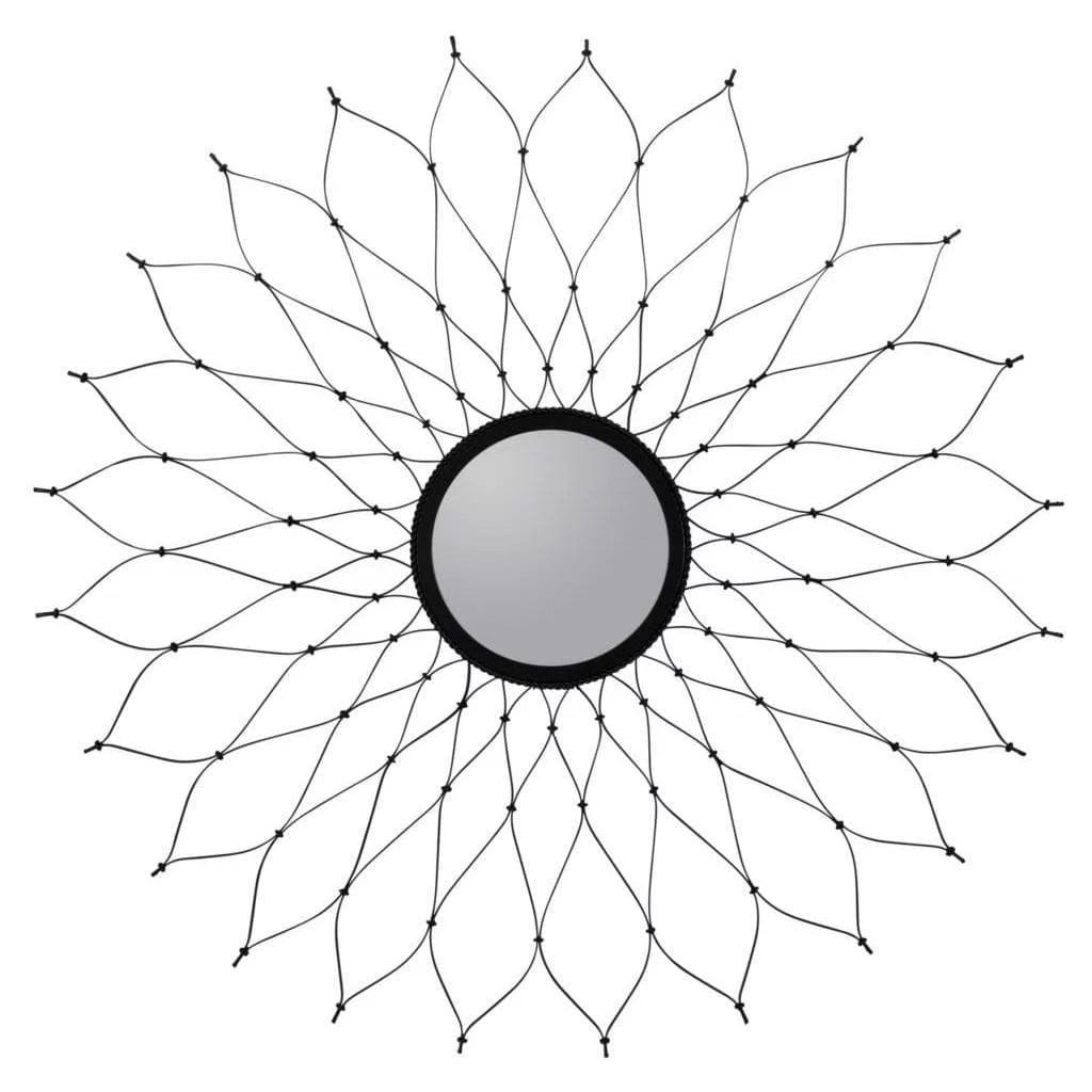 Cooper Classics Laken Metal Wire Round Mirror