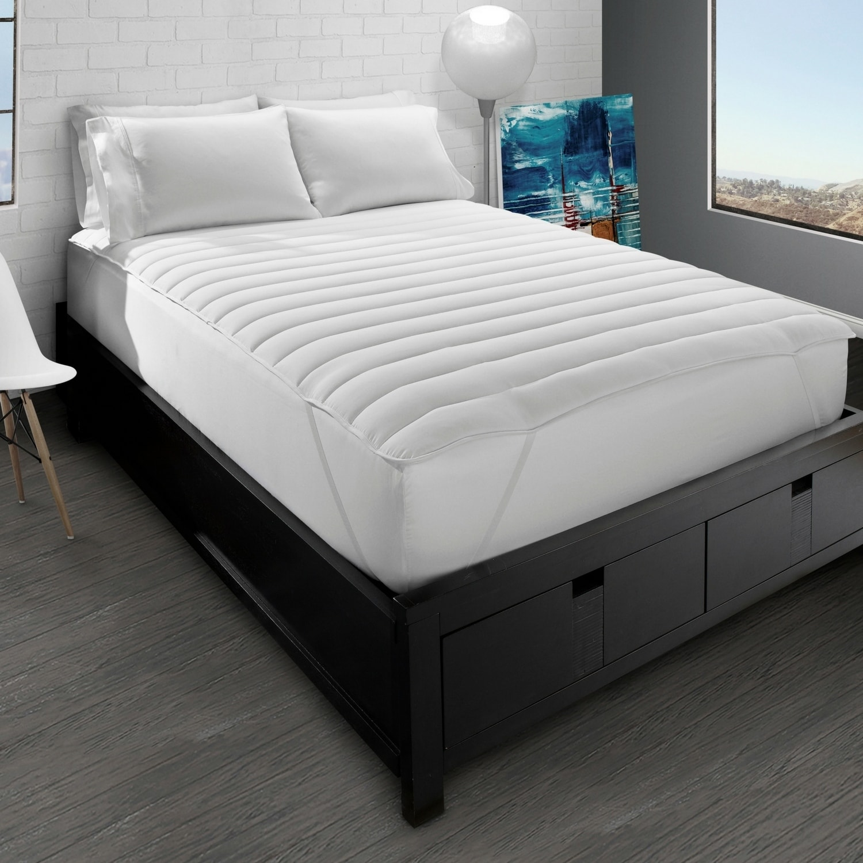 big soft pillow top mattress pad cal king walmart com