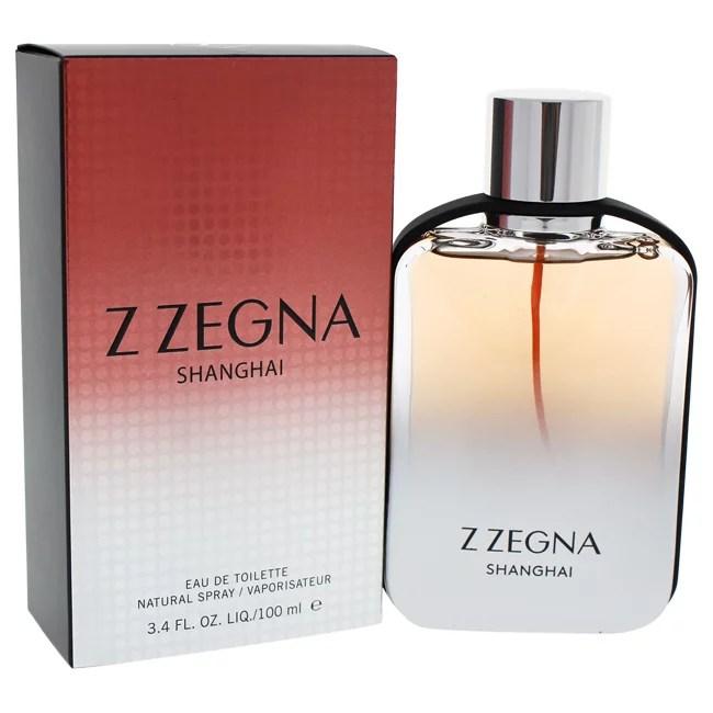 Z Zegna Shanghai Eau de Toilette Spray For Men, 3.4 Oz