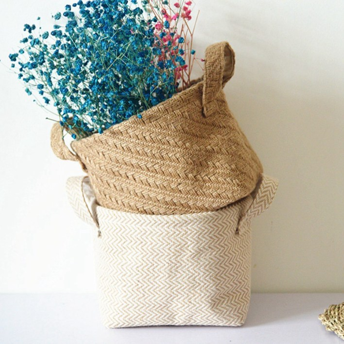 Large Seagrass Woven Wicker Basket with Arched Handles, Rustic Natural Brown Finish, as Coastal Decorative Accent or Storage