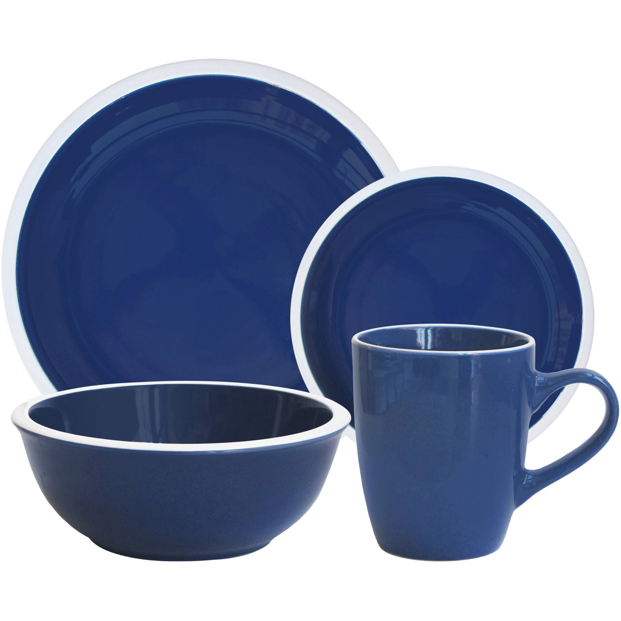 In select stores and online you can also get this Mainstays u0027 ...  sc 1 st  Holiday Deals and More.com & 16 pc Mainstays Hadleigh Dinnerware Set beginning at $17.00 at ...