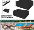 Outdoor Patio Furniture Table And Chairs Cover 98 4x98 4x35 4 95 3x63 8x39 4 100 Waterproof Winter Storage Cover Deck Patio Backyard Veranda Porch Table Covers Walmart Com Walmart Com