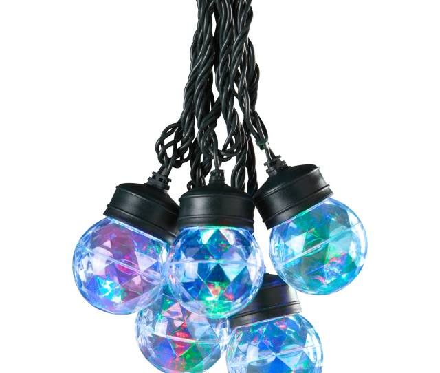 Gemmy Lightshow Christmas Lights Ct Led Projection Lights With Clips Set Of  Red