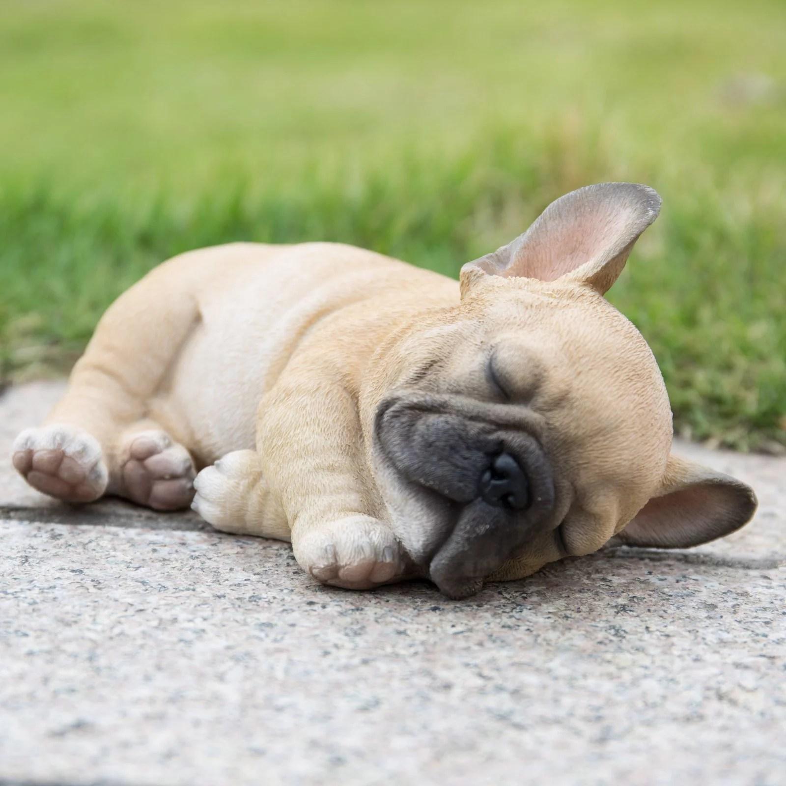 Sleeping Pug Puppy Statue Walmart Com Walmart Com