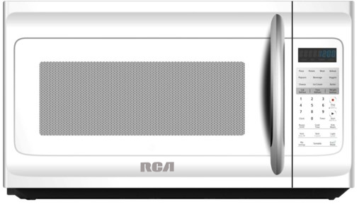 rca 1 6 cubic foot over the range microwave white rmw1630