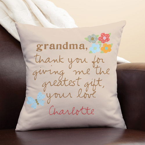 personalized pillow sandra magsamen for grandma