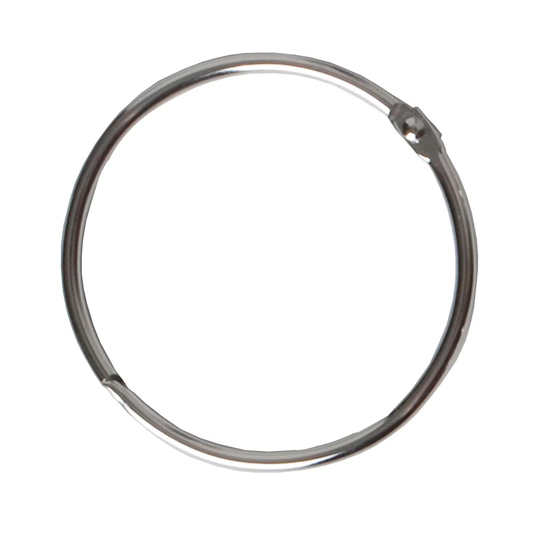 Metal Circular Shower Ring Chrome Set Of 12 Heavy Duty Construction By Maytex Walmart Com