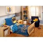 Batman 4 Piece Toddler Bedding Set Walmart Com Walmart Com
