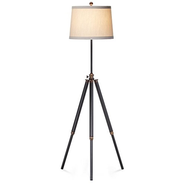 pacific coast lighting tripod floor lamp in antique bronze