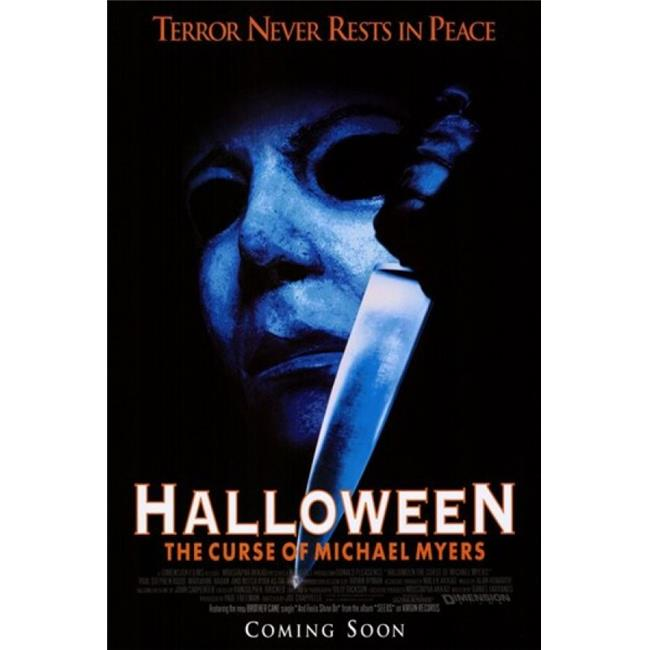 posterazzi mov194513 halloween 6 the curse of michael myers movie poster 11 x 17 in