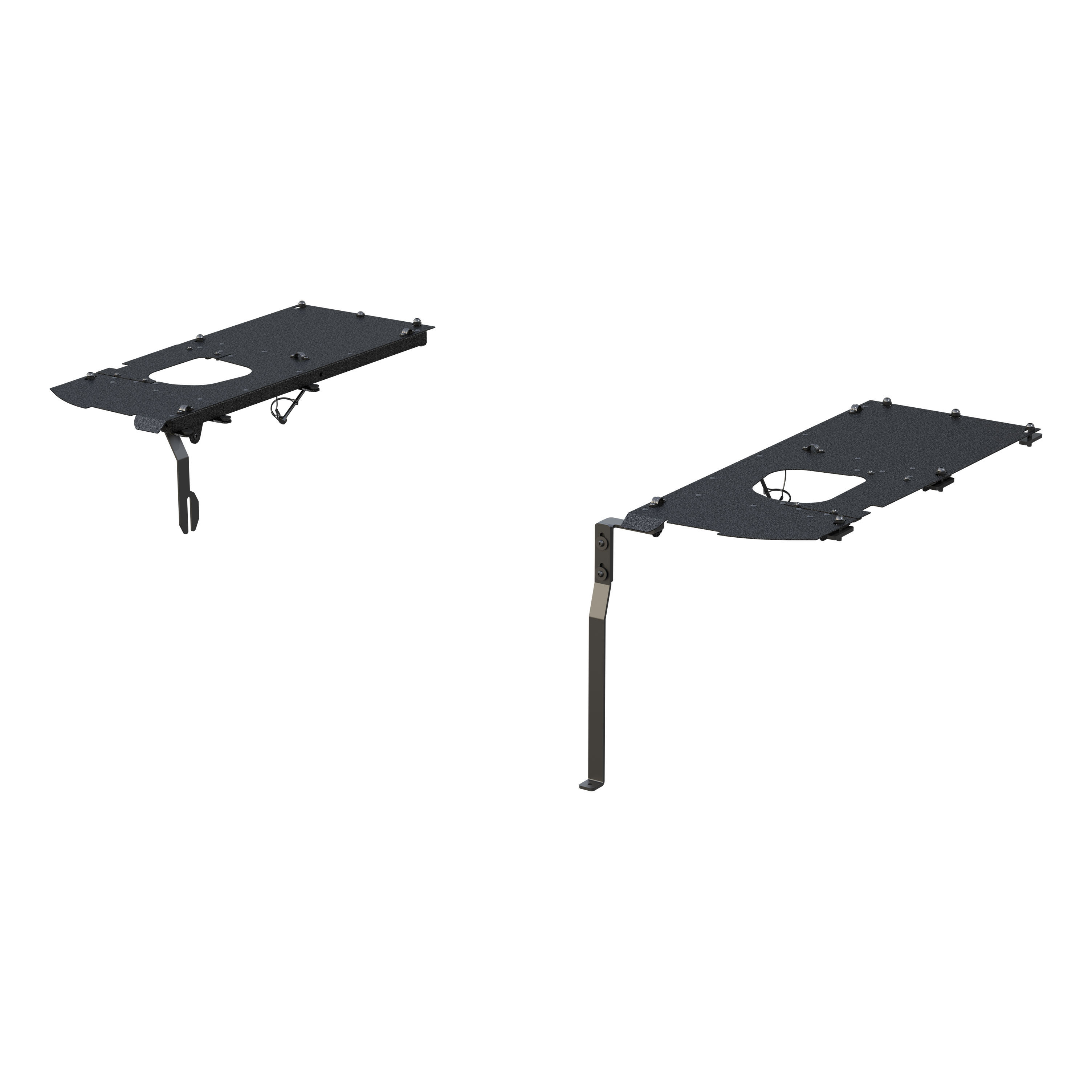 Jeep Security Cargo Lid Side Panels