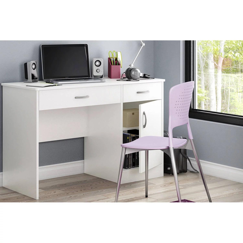south shore smart basics small work desk multiple finishes