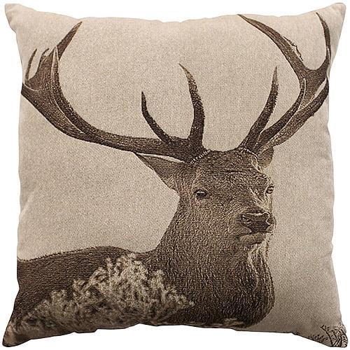 better homes gardens decorative throw pillow deer 18