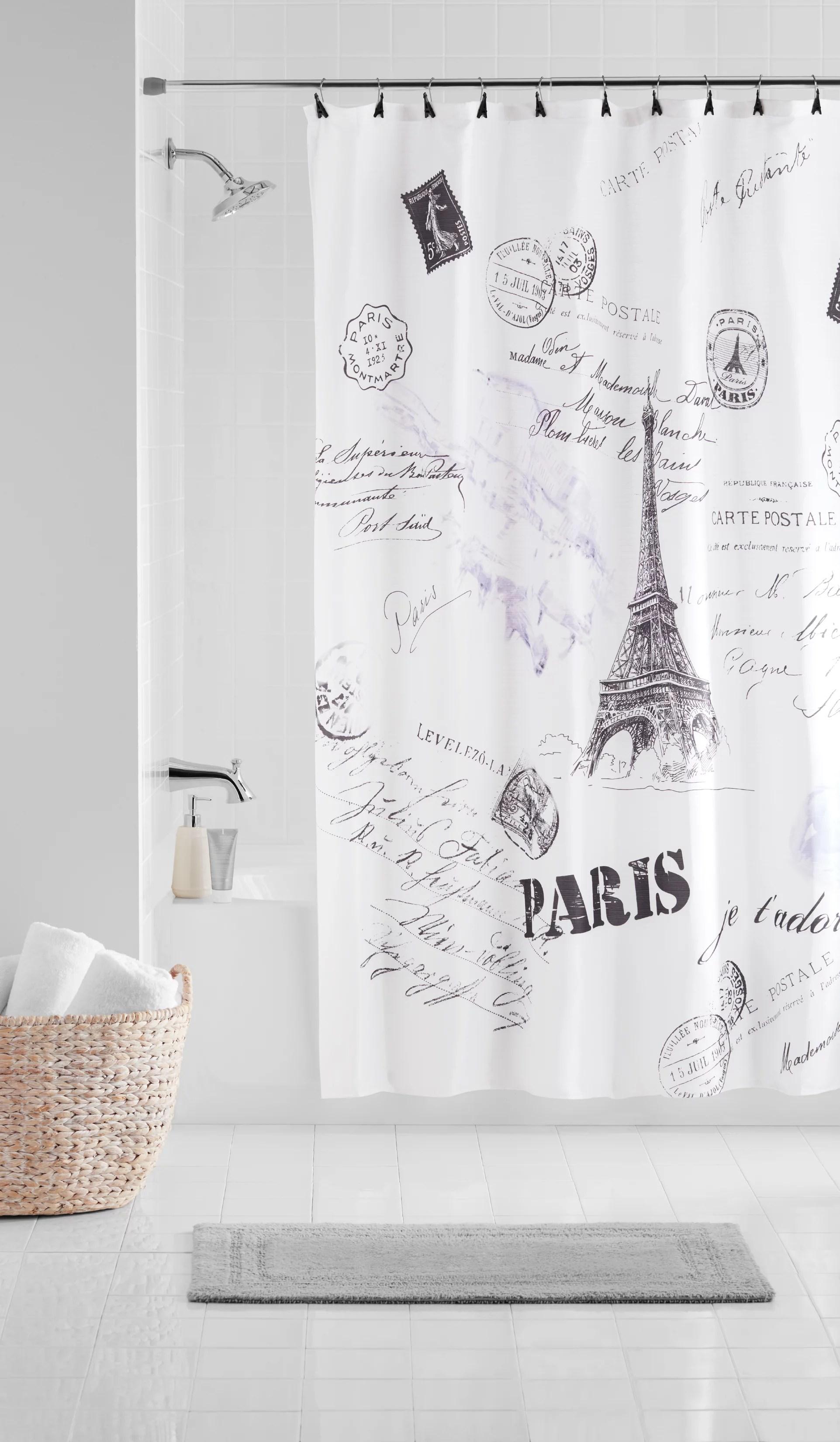 accessories bathroom curtain at walmart