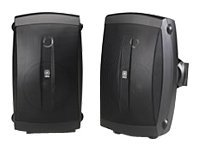 Yamaha NS-AW150BL 2-Way Outdoor Speakers (Pair, Black)